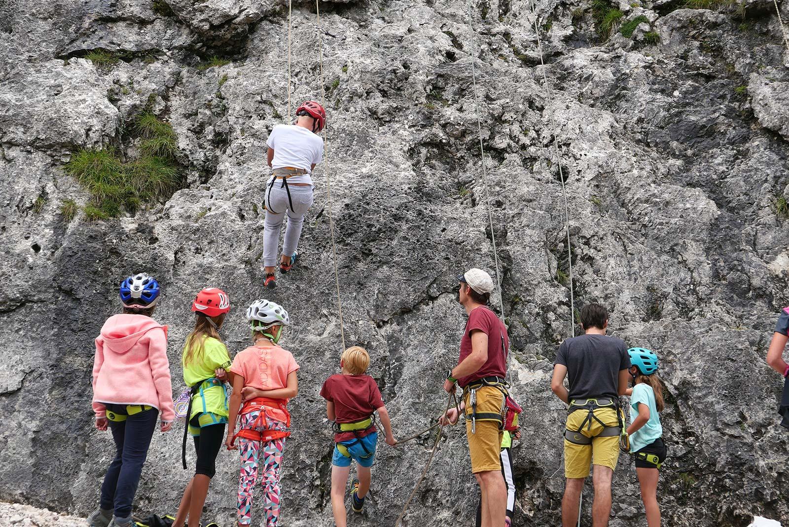 Bergsteigertipp: Toprope-Klettern