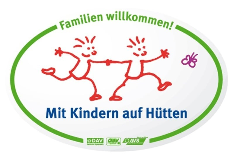 Logo Mit Kindern auf Hütten I AVS
