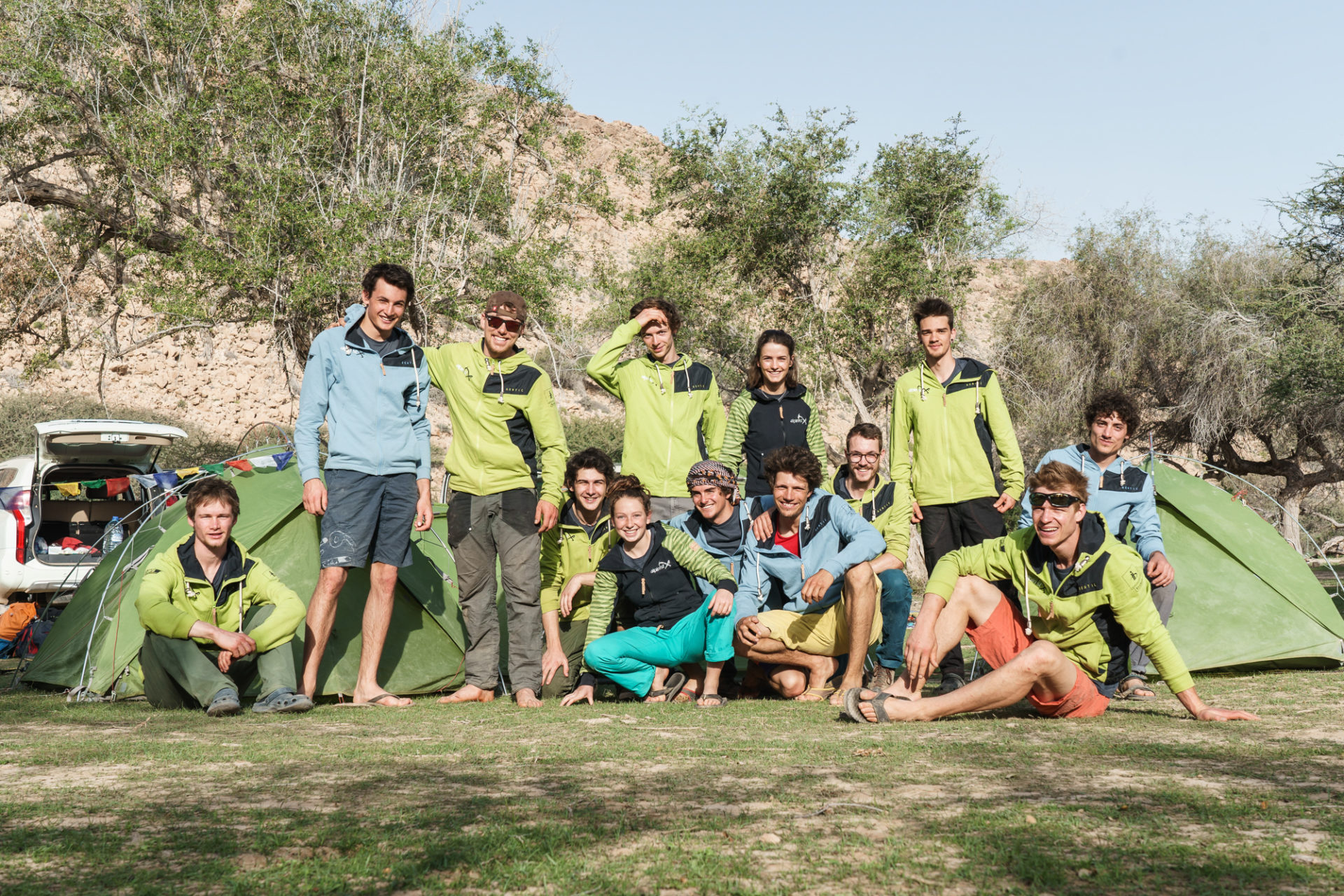 ALPINIST: Kletterfahrt Oman Gruppe 2
