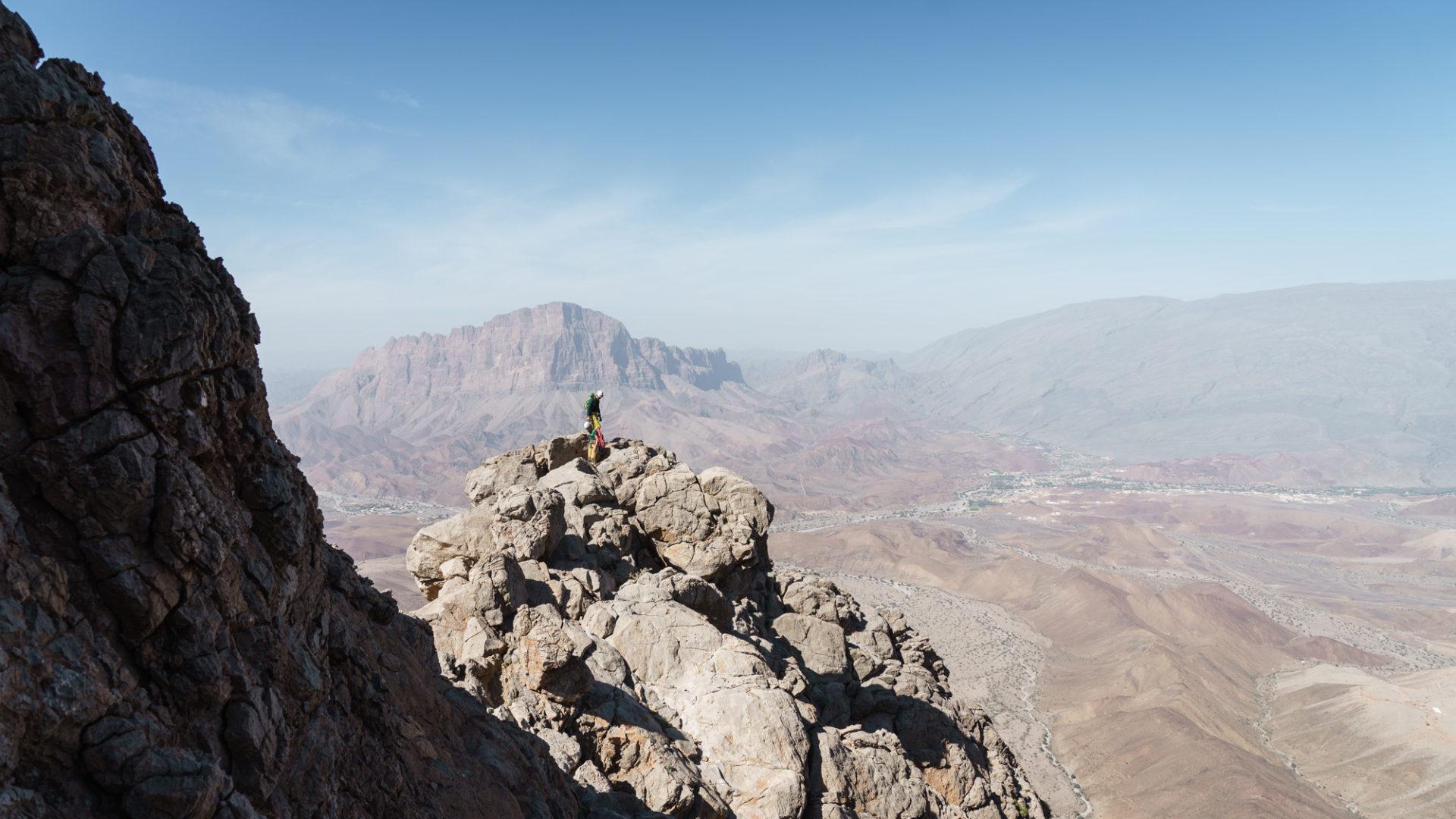 Projekt Alpinist im Sultanat Oman