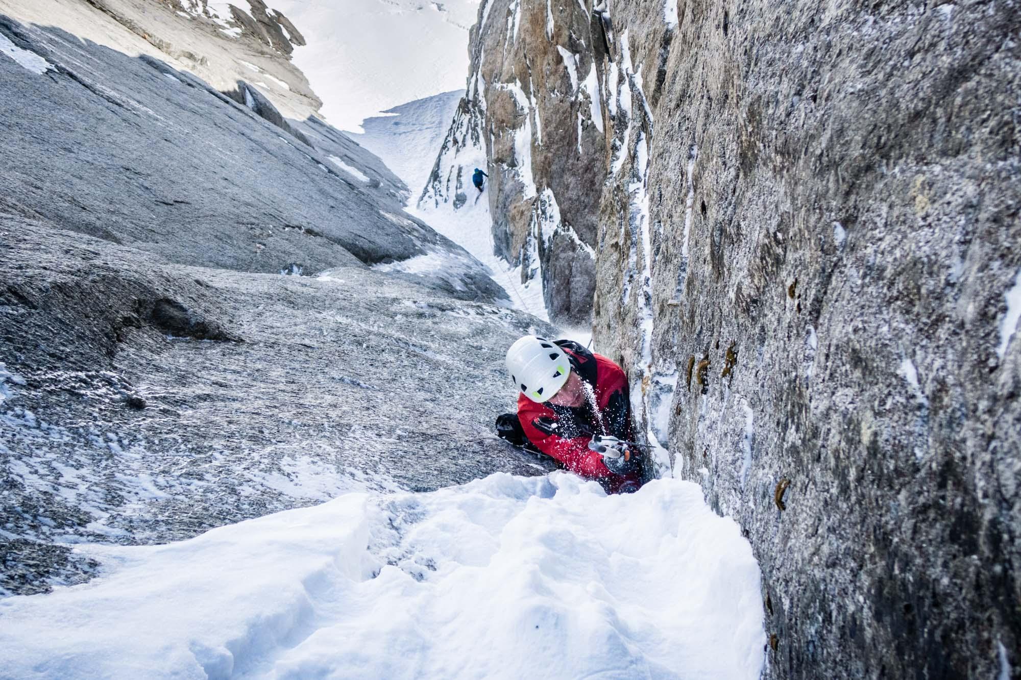 ALPINIST: Winterbergsteigen in Chamonix