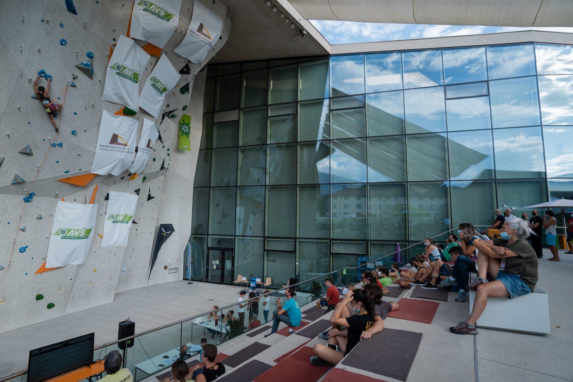 Italienmeisterschaften Lead 2020, Kletterzentrum Bruneck
