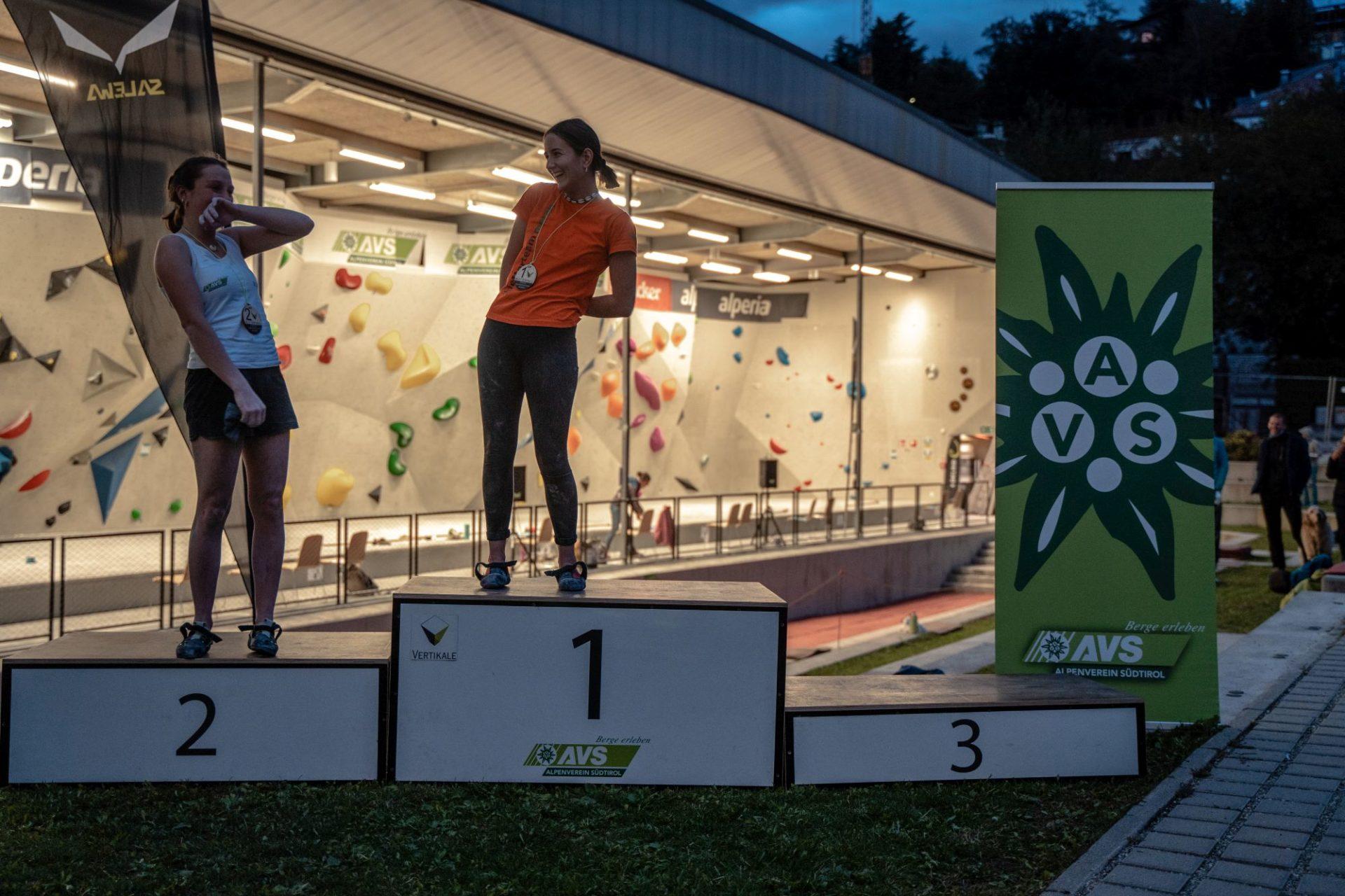 Südtiroler Jugendmeisterschaften Boulder 2020, Vertikale Brixen