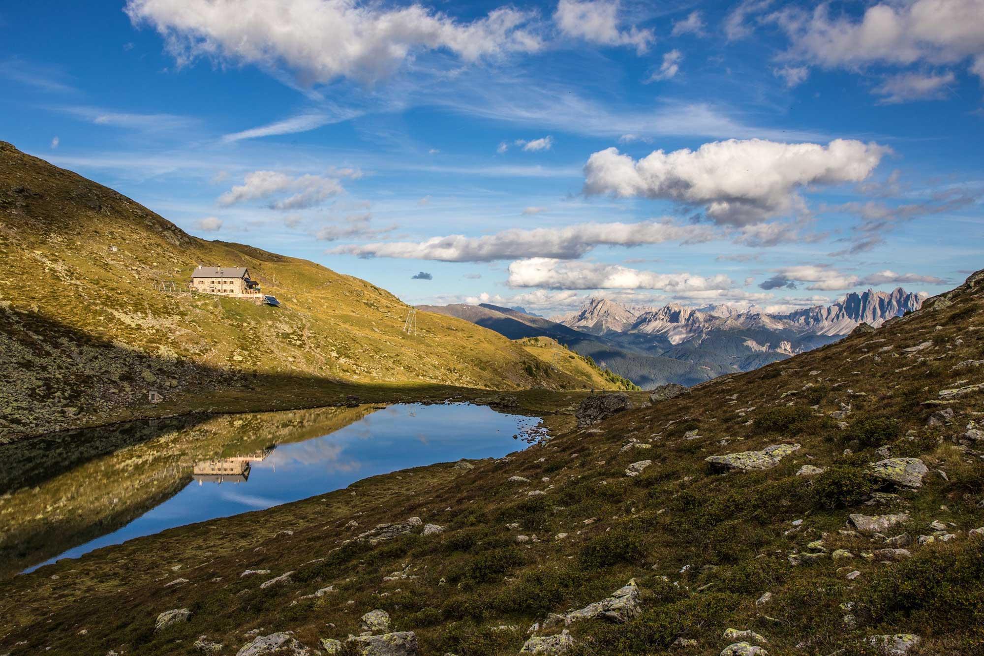 Die Radlseehütte (2.284 m)