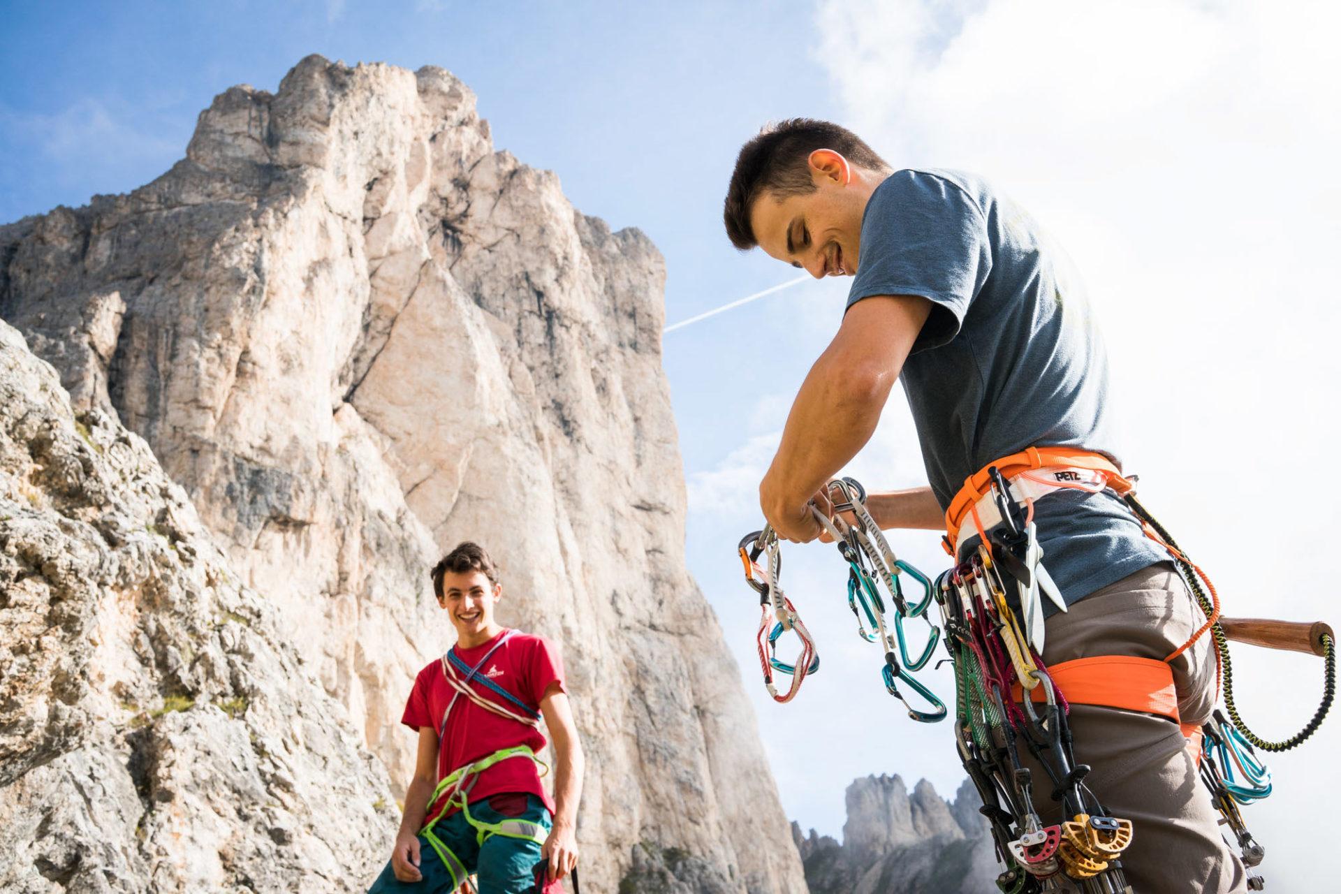 ALPINIST: Vergessene Kletterrouten im Rosengarten