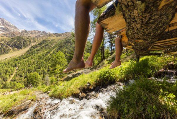 Entspannen in einem Bergsteigerdorf in Südtirol I ©IDM-Frieder Blickle I Bergsteigerdörfer