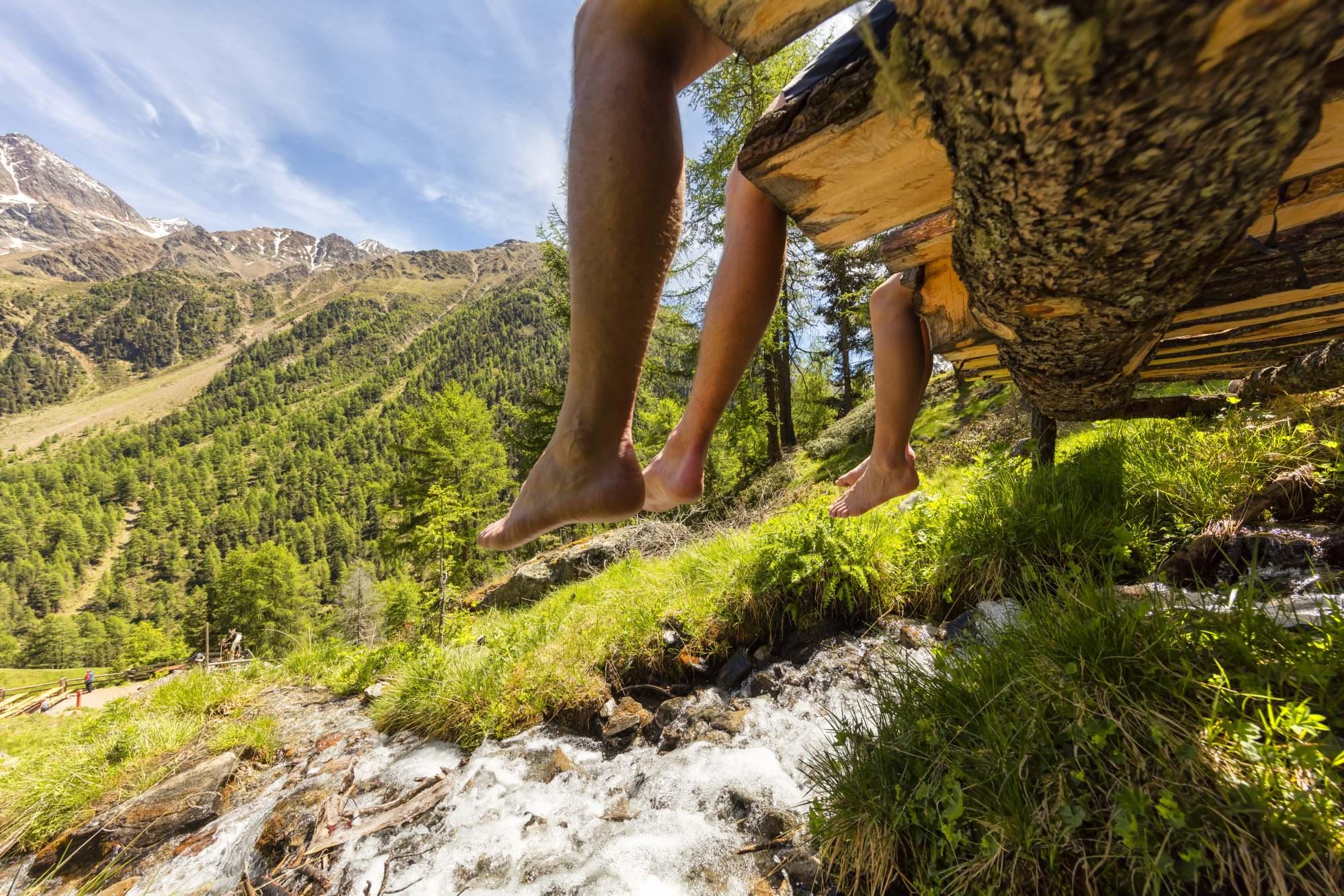Die Südtiroler Bergsteigerdörfer: Matsch und Lungiarü