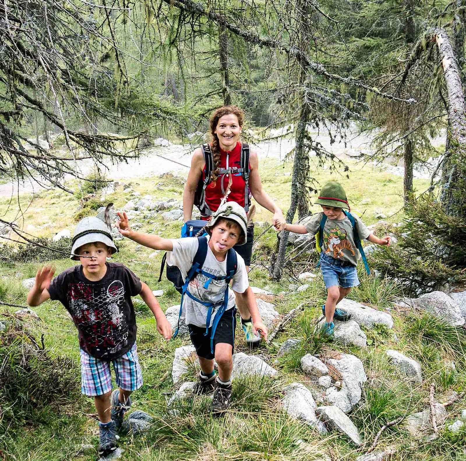 Familienfreundliche Wanderungen in Südtirol