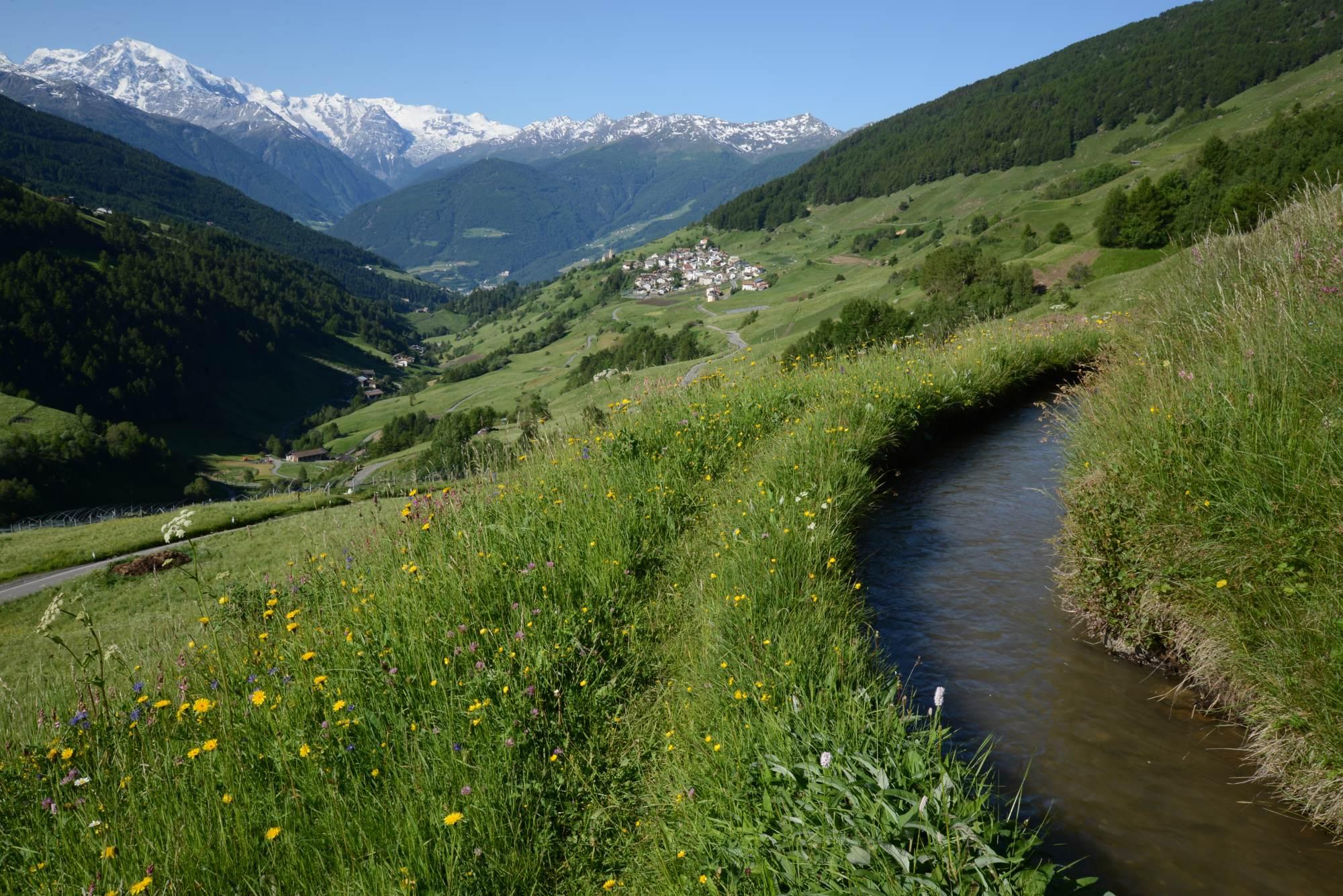 Das Bergsteigerdorf Matsch: Wild und vielfältig