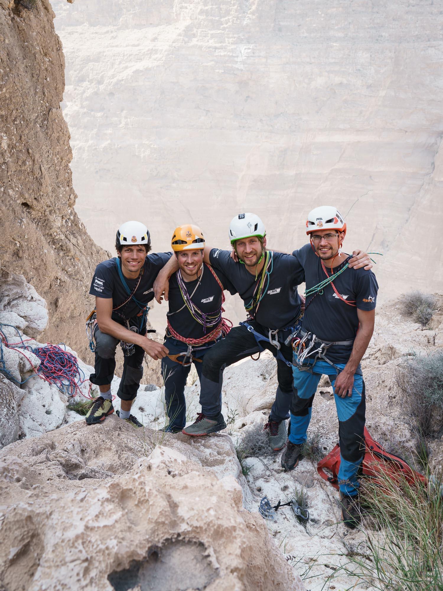 """No Mischggele (VI)"" Wadi Tiwi, Oman"
