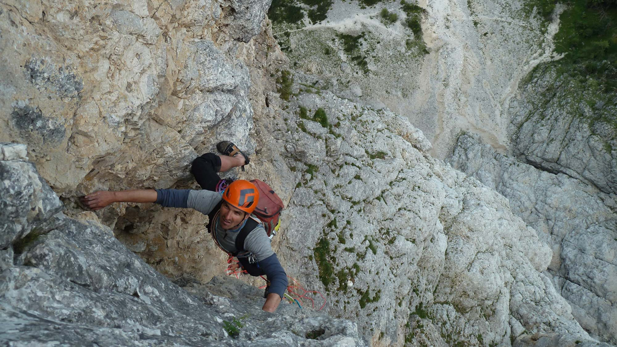 """""""Hons im Glück (VII)"""" Santnerspitze, Dolomiten"""