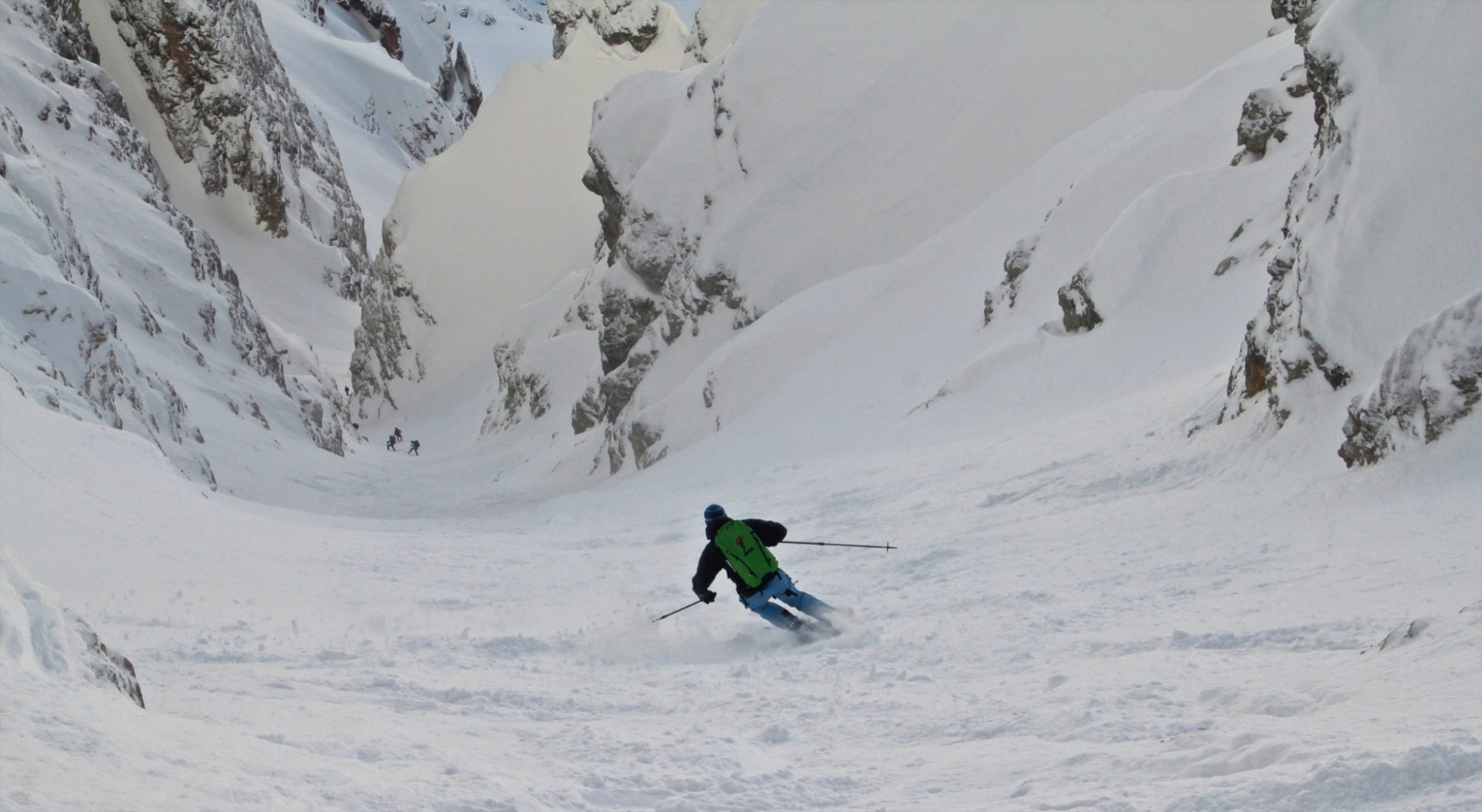 Skitour Östliche Puezspitze, Canale Nord