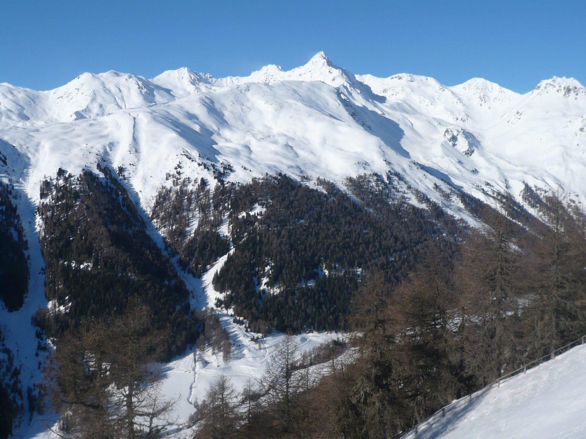 Lenkung der Wintersportler