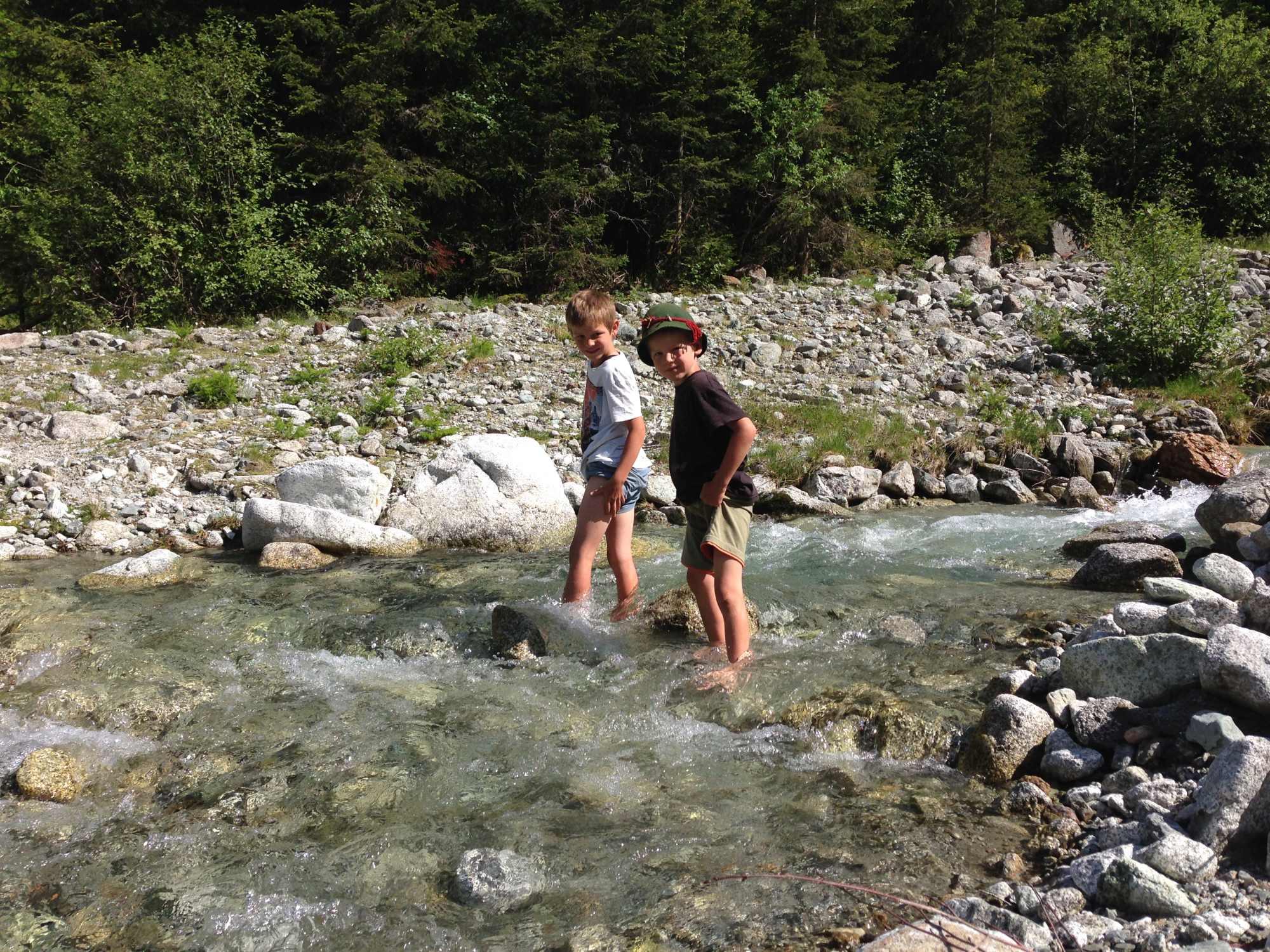Familienbergwoche mit den Südtirolern in der Welt