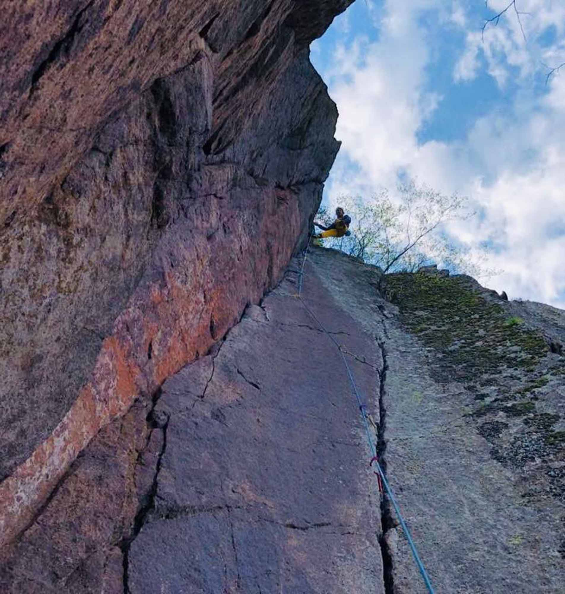 """""""The clean Nose (7a)"""", Eppan"""