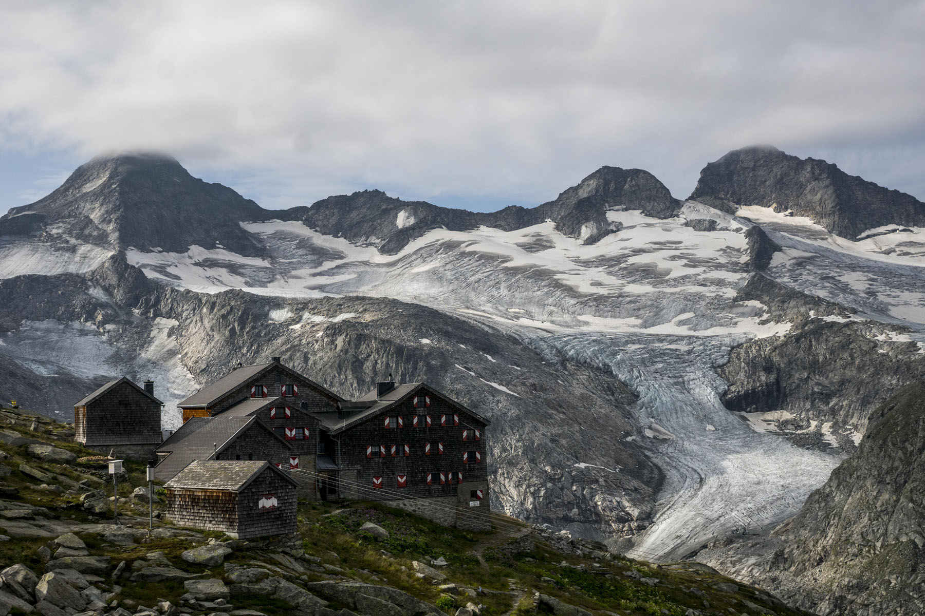 Die Kürsingerhütte (2.558 m)