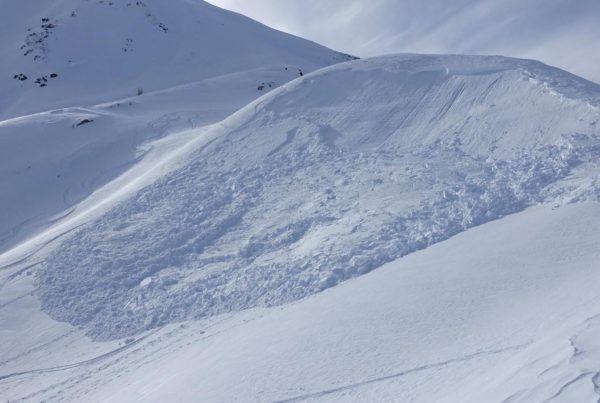 Lawine © Lawinenwarndienst Südtirol