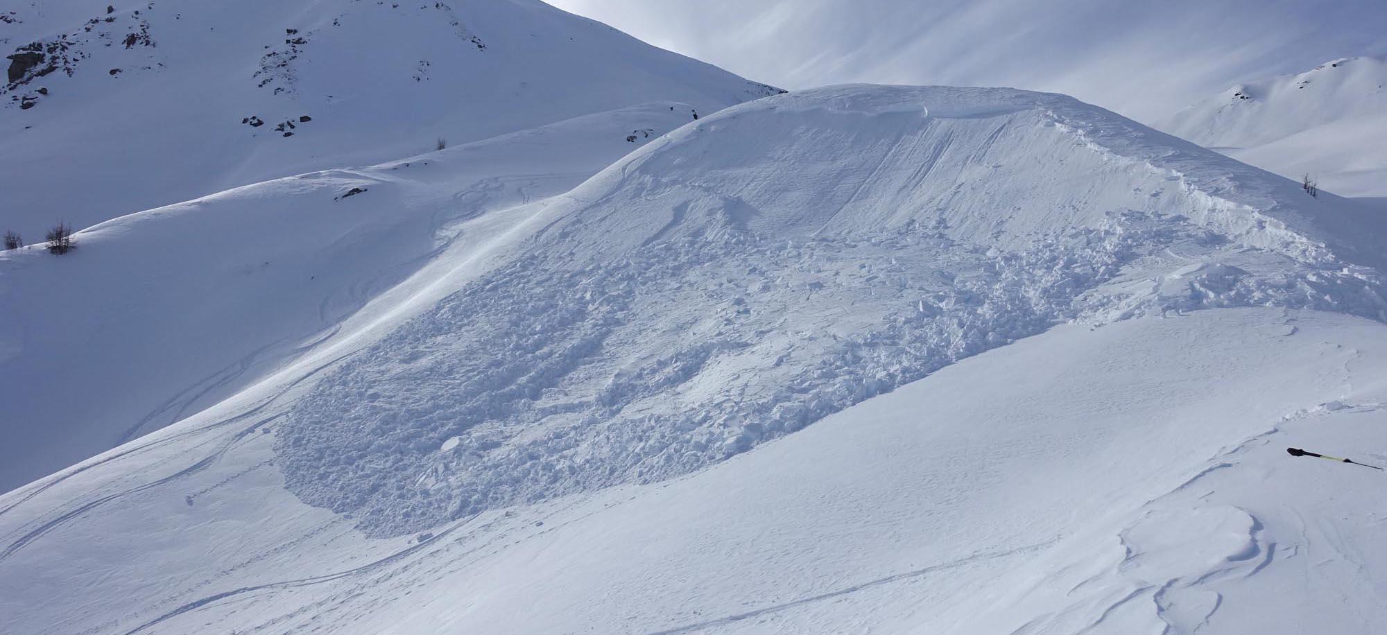Bergsteigertipp: Hangneigung & Lawinenwarnstufe