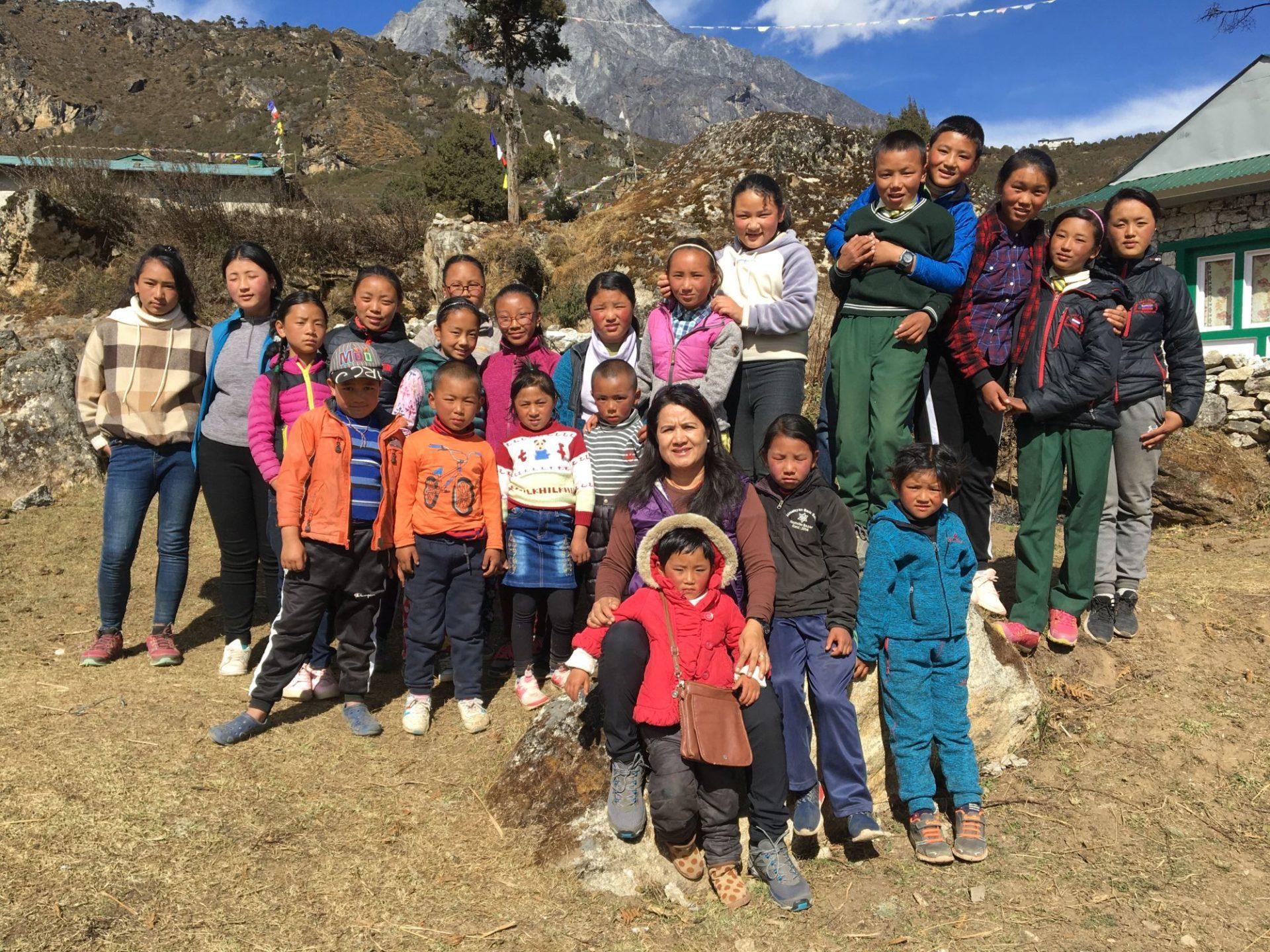 Schulkinder 2019 | Buddhi Maya Sherpa
