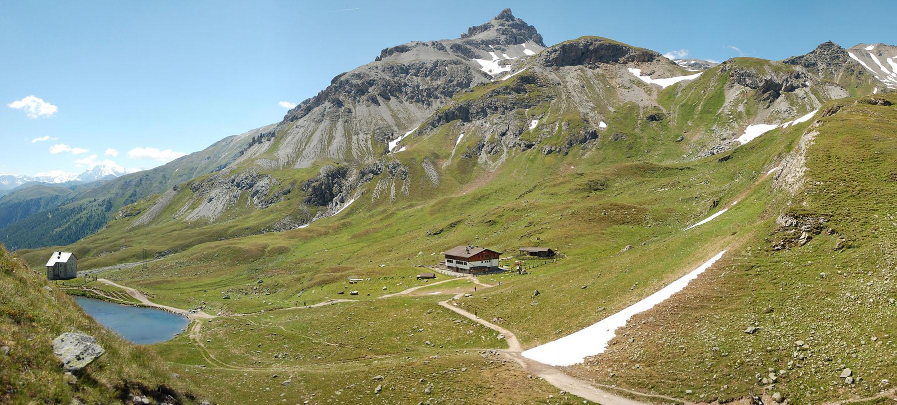 Die Sesvennahütte (2.262 m)