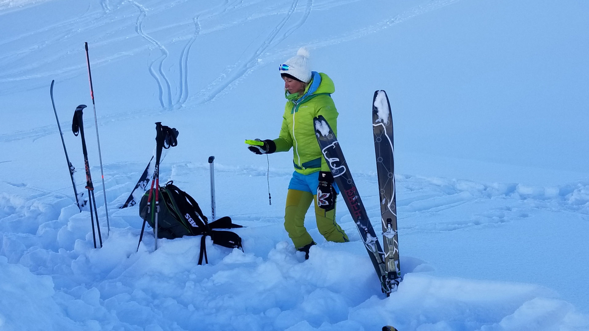 B201 Weiterbildung Skitouren (c) Erwin Karbacher