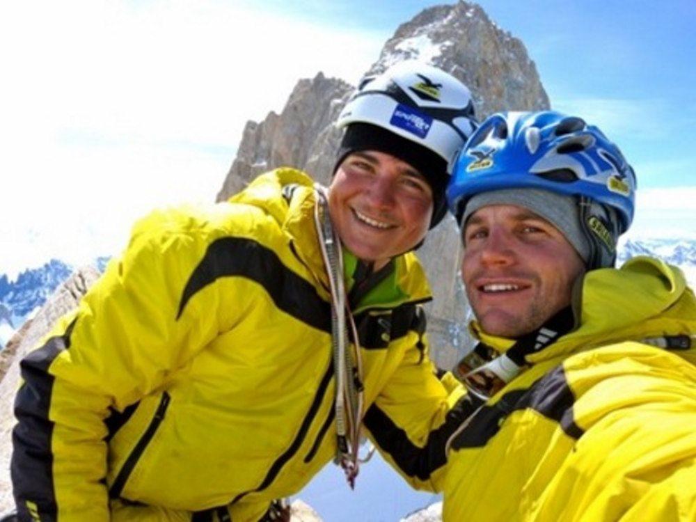 """""""Fühl dich stark aber nicht unsterblich (600m/A3+/6c/M5)"""", Pointcenot – Patagonien"""