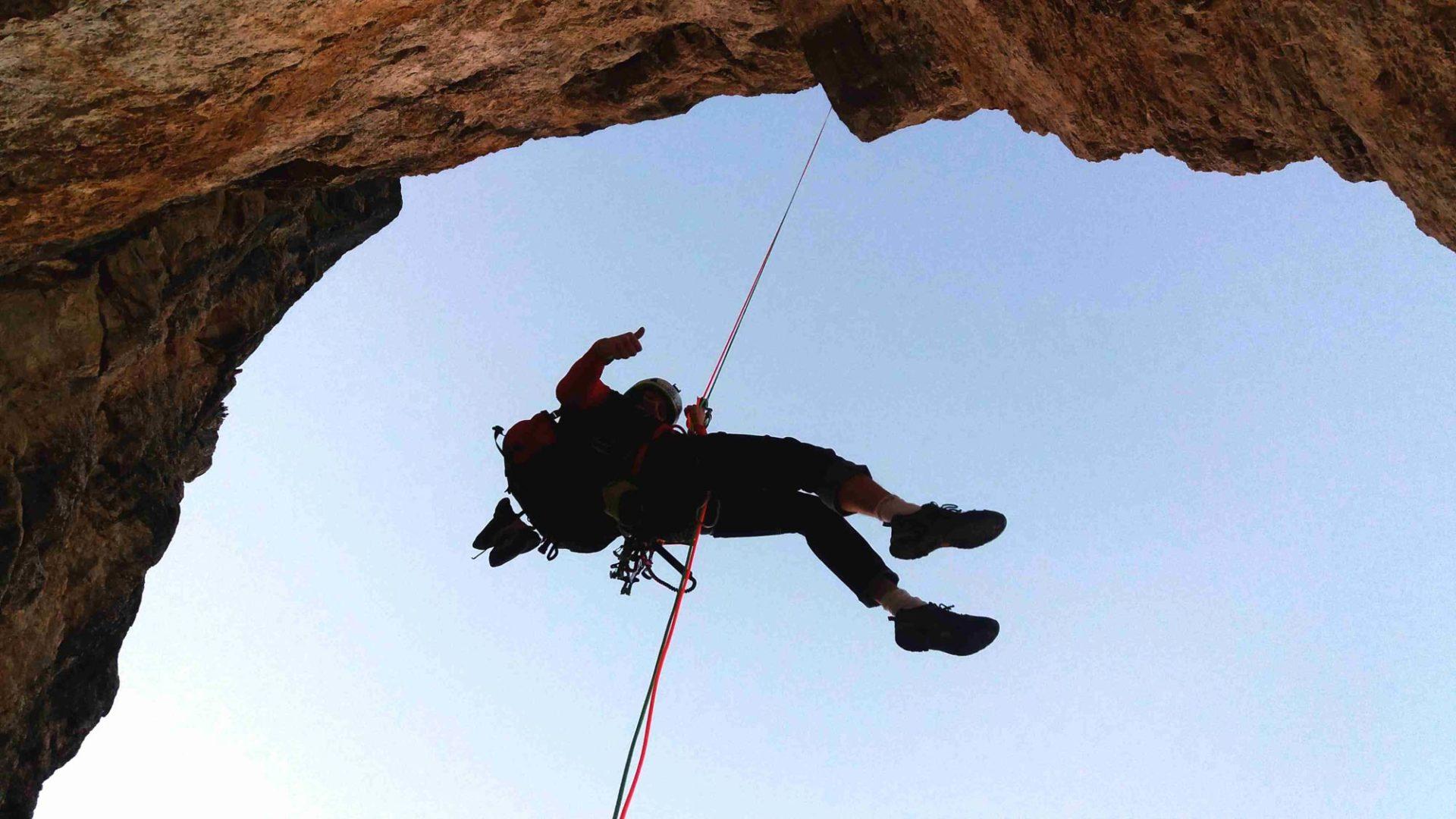 Bergsteigertipp: Abseilen