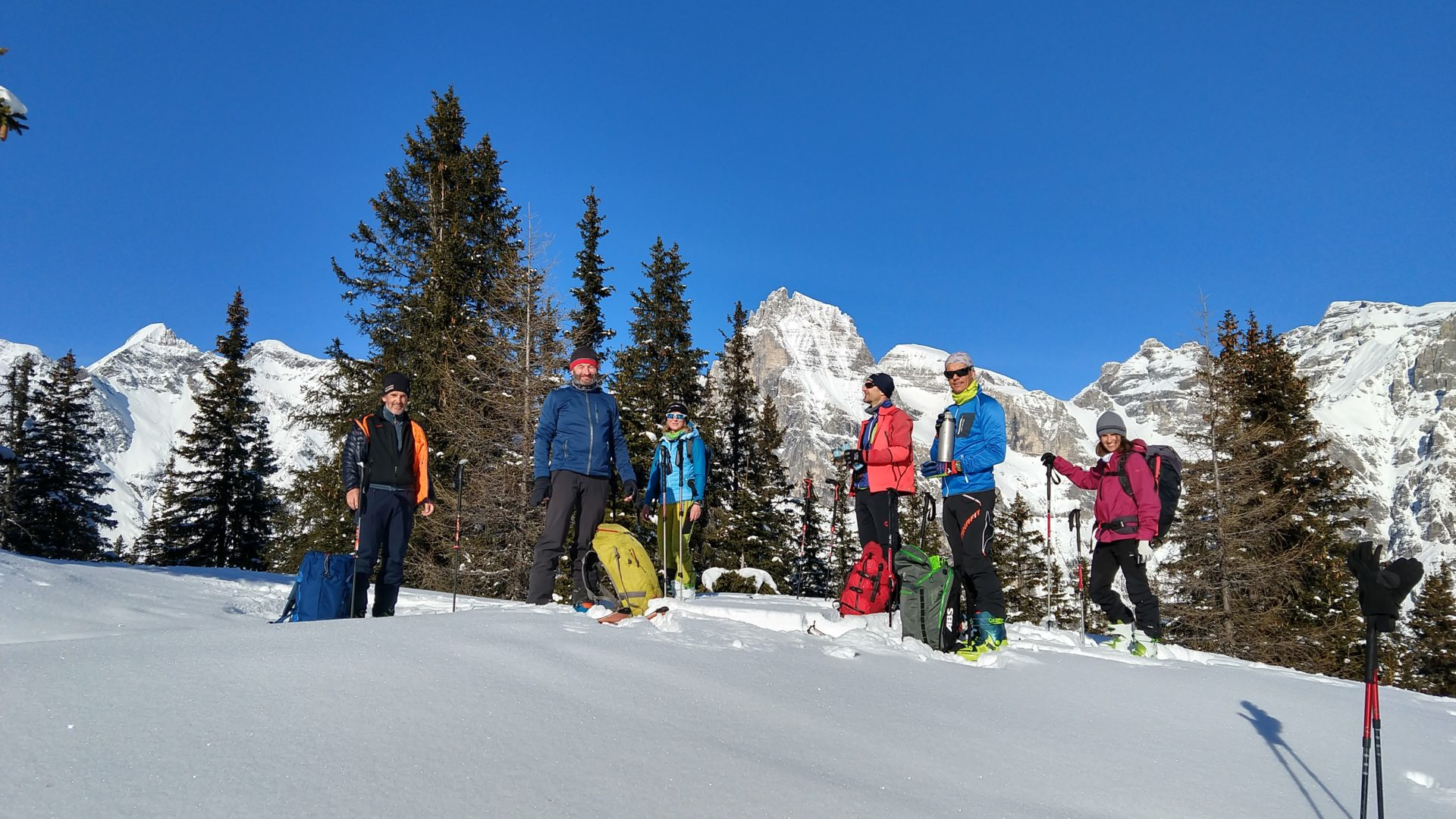 Tourenleiterweiterbildung Skitour (c) Stephan Masoner