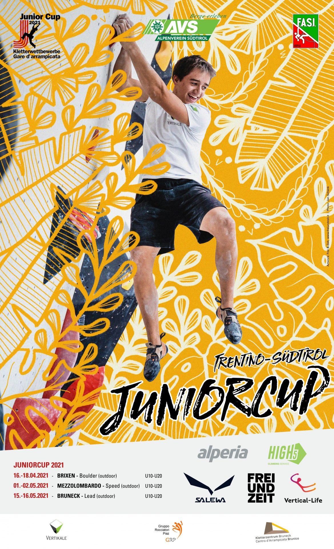 Juniorcup Plakat NEU I (c) Vertical Life I AVS