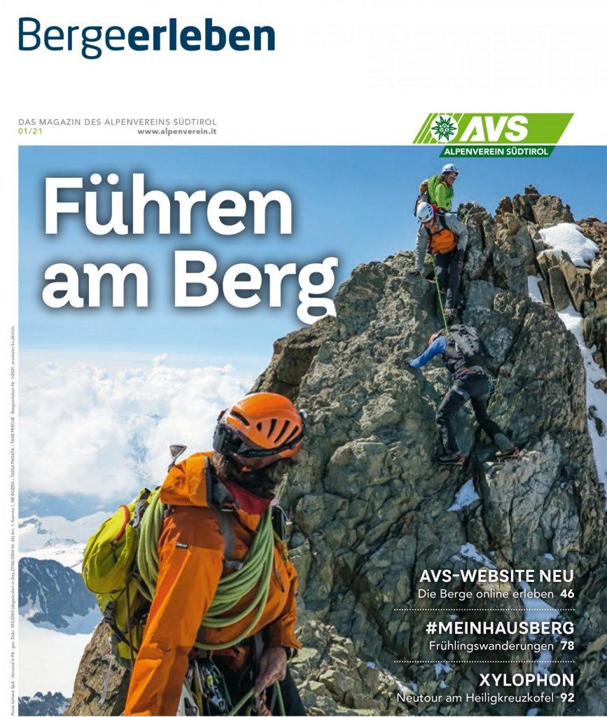 Berge erleben 01 2021 Cover