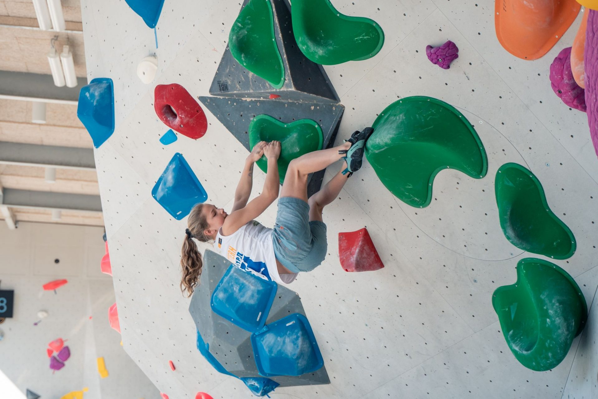 1. Juniorcup Boulder 2021, Vertikale Brixen