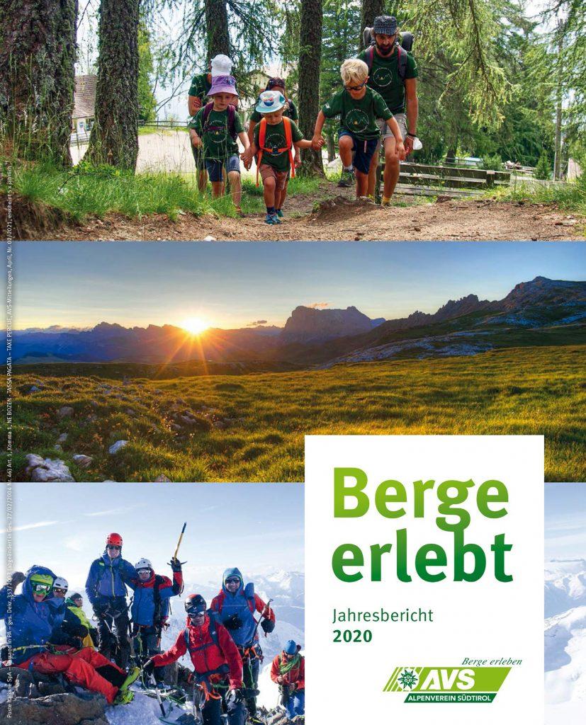 Jahresbericht Berge erlebt 2020