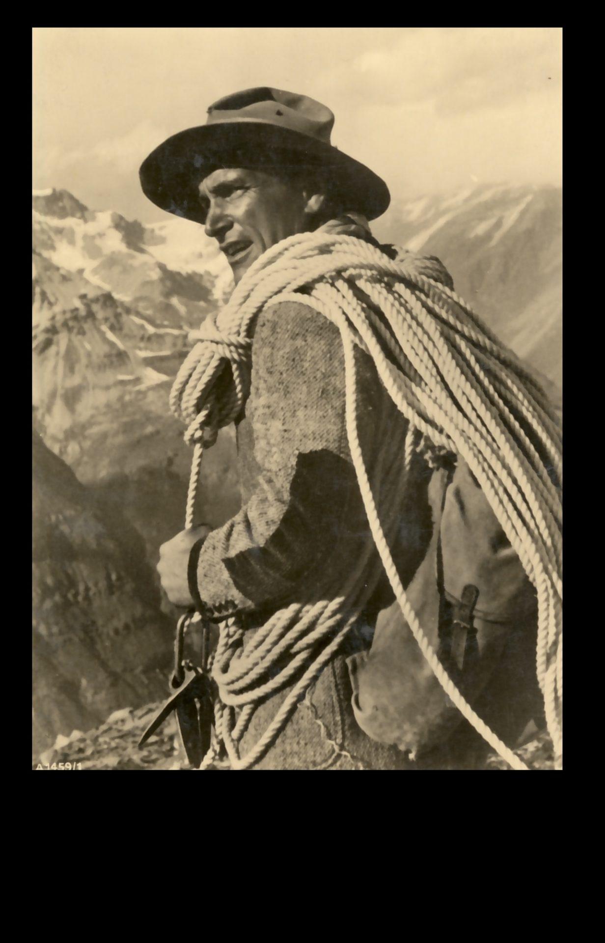 Luis Trenker I Berge erleben © Archiv DAV