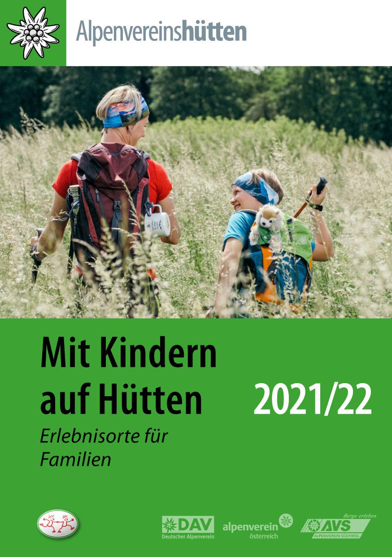 Mit Kindern auf Hütten Cover 2021/22
