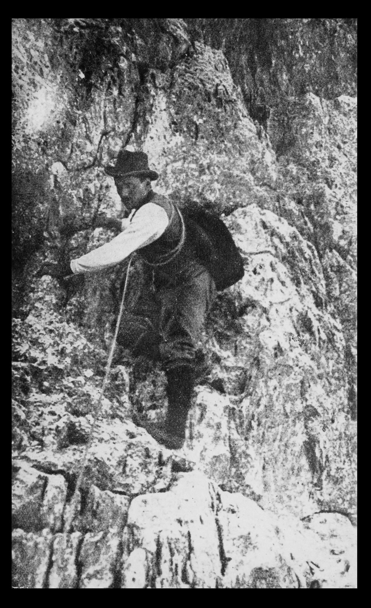 Innerkofler Sepp I Berge erleben © Archiv ÖAV