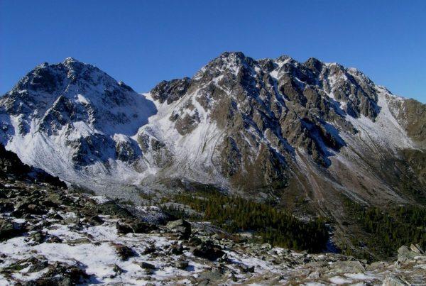 Am Samerjoch zwischen Nonsberg und Ultental I Berge erleben © Stephan Illmer