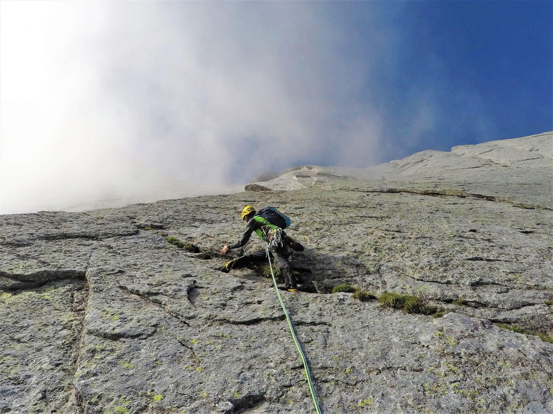 Cassin Nordwand Piz Badile(c)MaxLanzinger