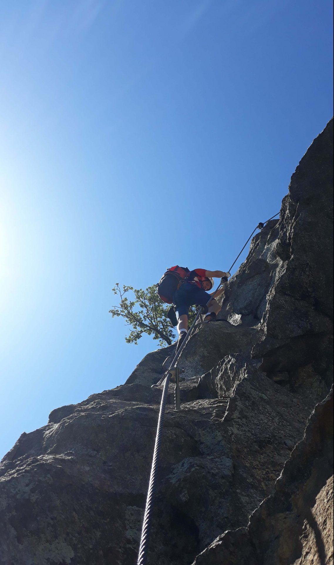 Klettersteig I Bergeerleben (c) BRD Meran