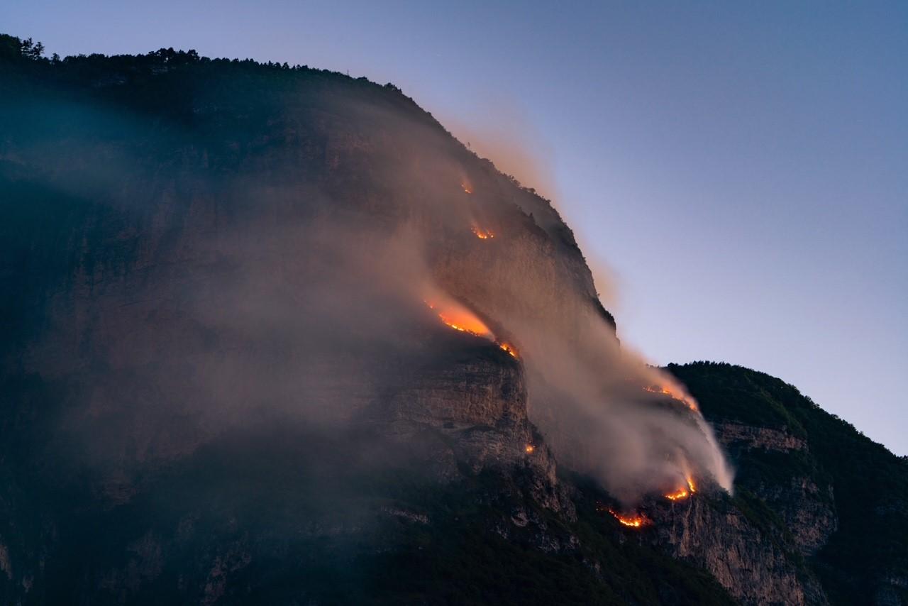 Klettersteig Fennberg gesperrt