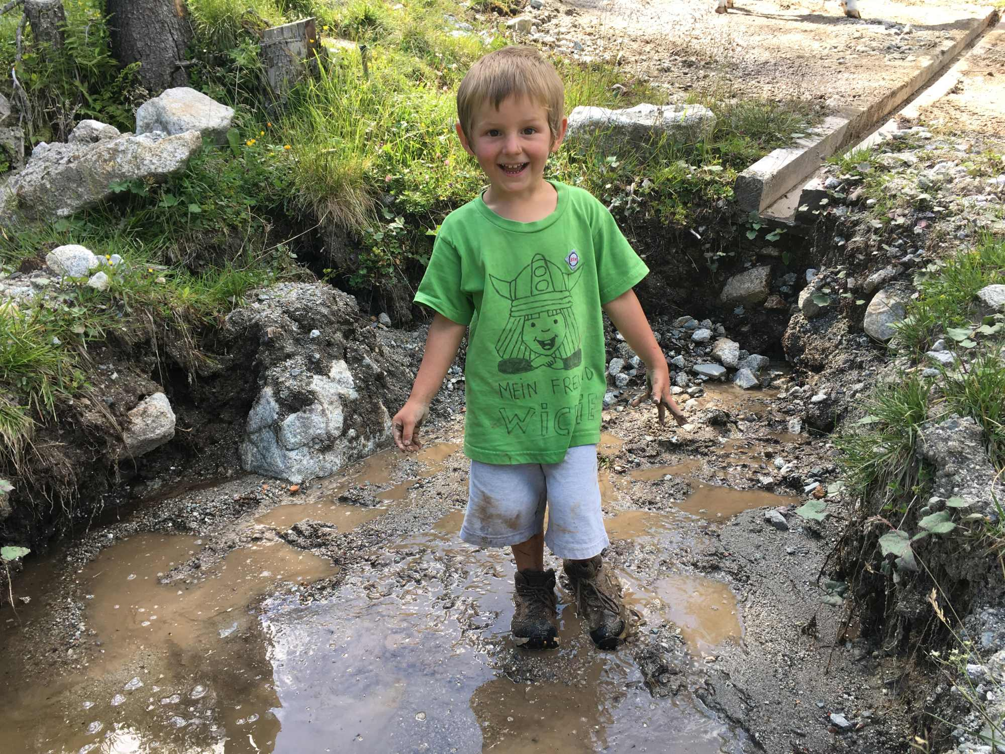 Bergsteigertipp: Einfache Lösung gegen nasse Füße