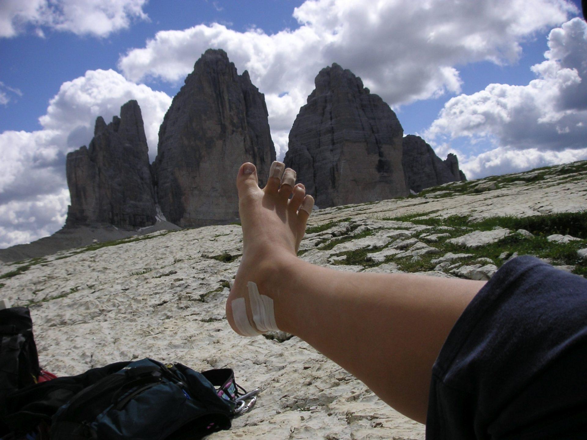Bergsteigertipp: Blasen, die treuen Begleiter