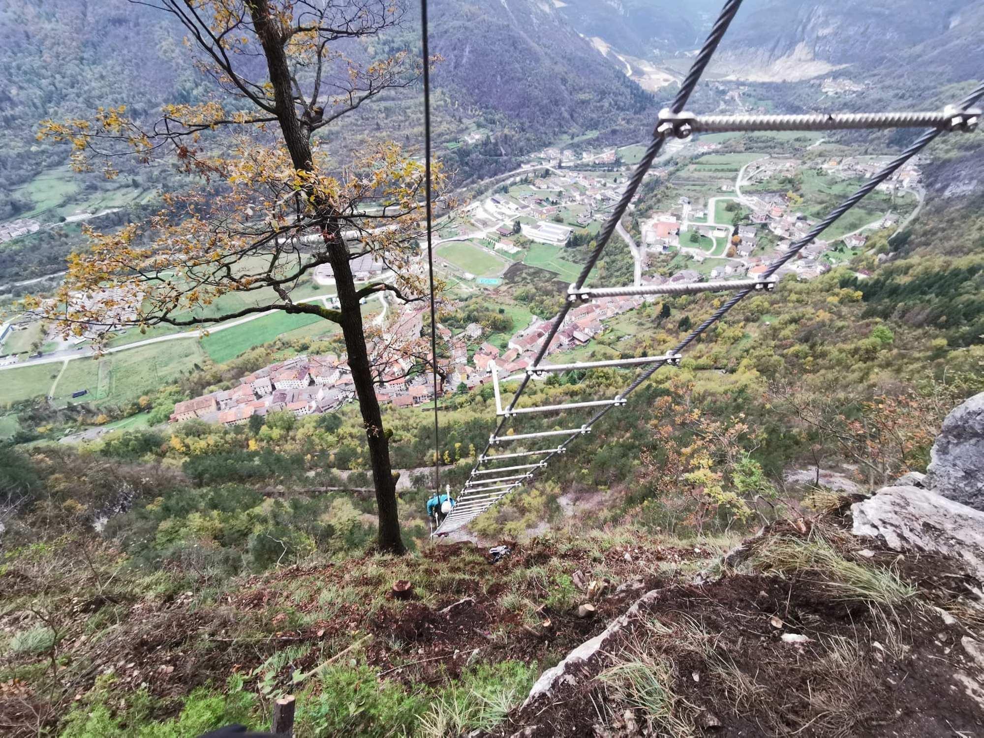 Klettersteig Leiter (c) Simon Kehrer