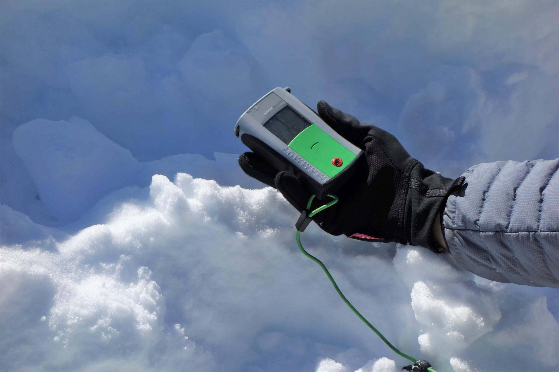 Bergsteigertipp: Standardmaßnahme LVS-Check