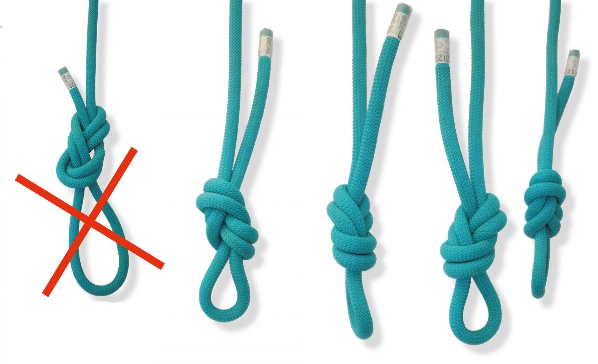 Bergsteigertipp: 8-ung! Richtig Knoten