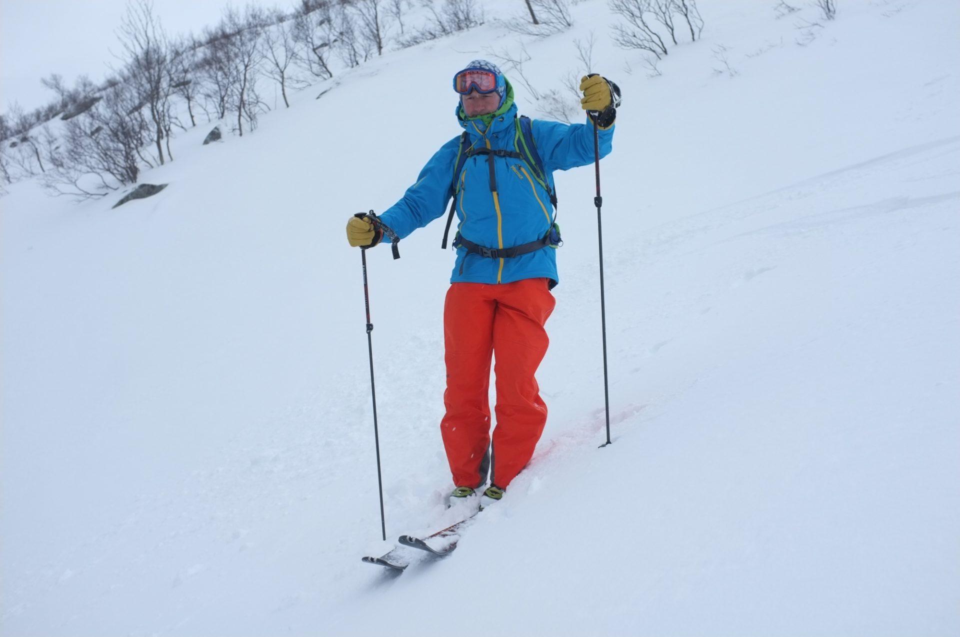 Bergsteigertipp: Ski an- und ausziehen