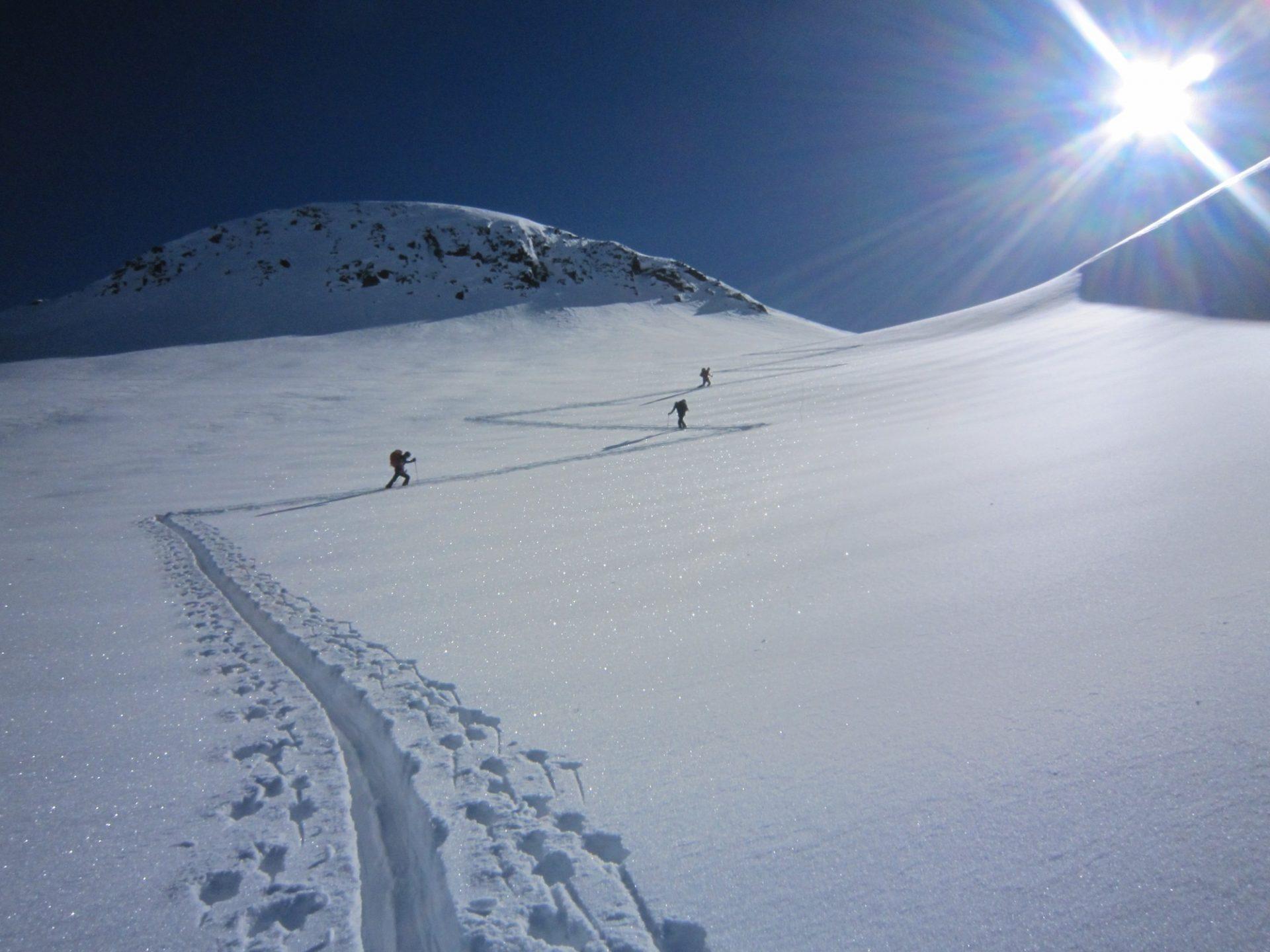 Bergsteigertipp: Spitzkehre