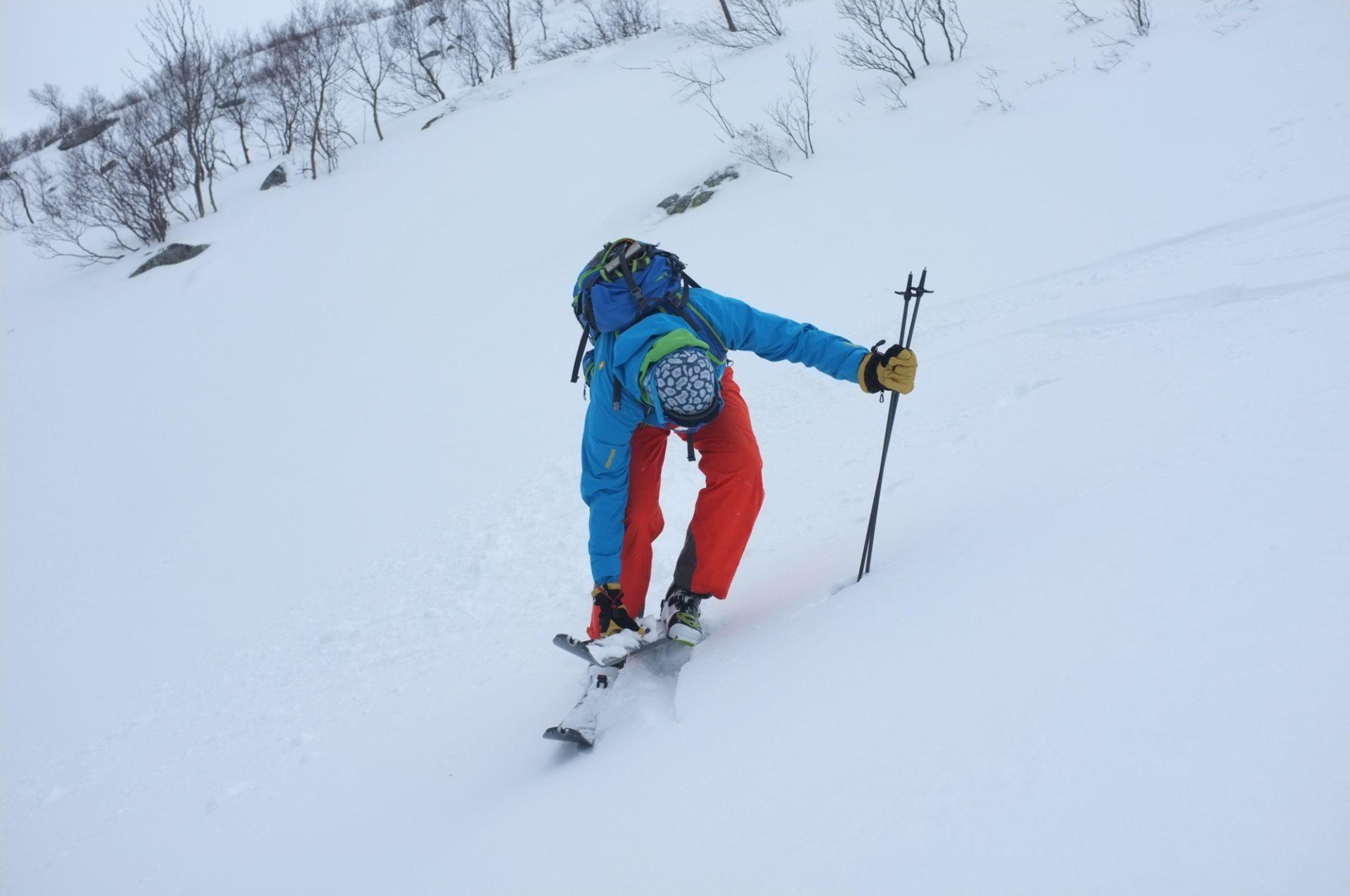Bergsteigertipp Ski ausziehen 1 I (c) Peter Plattner