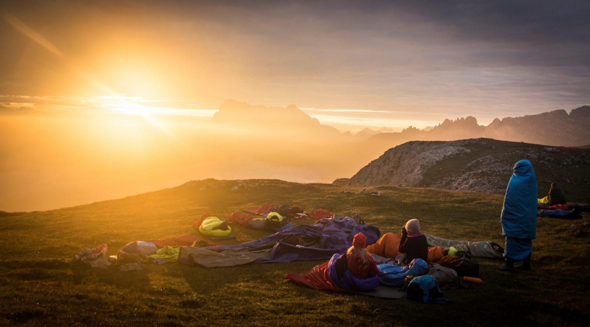 Bergsteigertipp: Schlafsack & Isomate