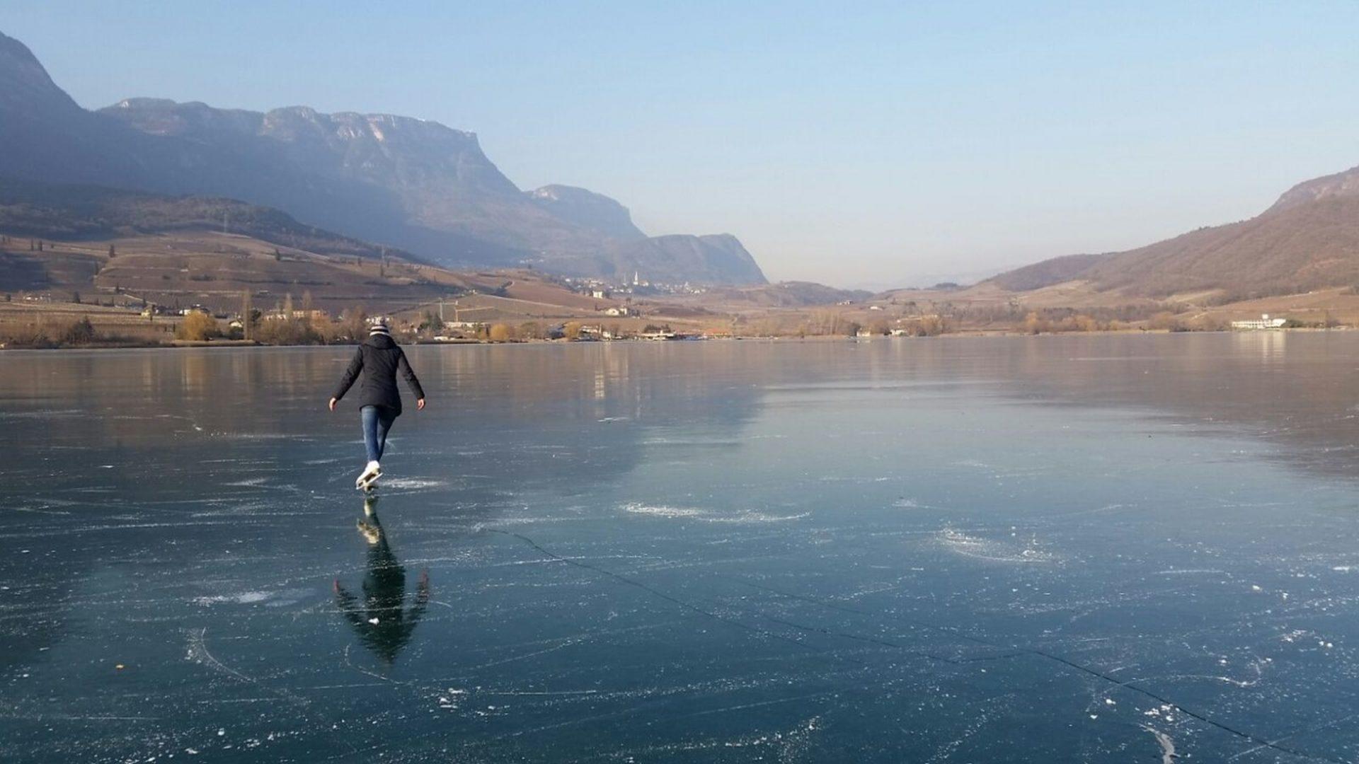 Bergsteigertipp: Hält das Eis?