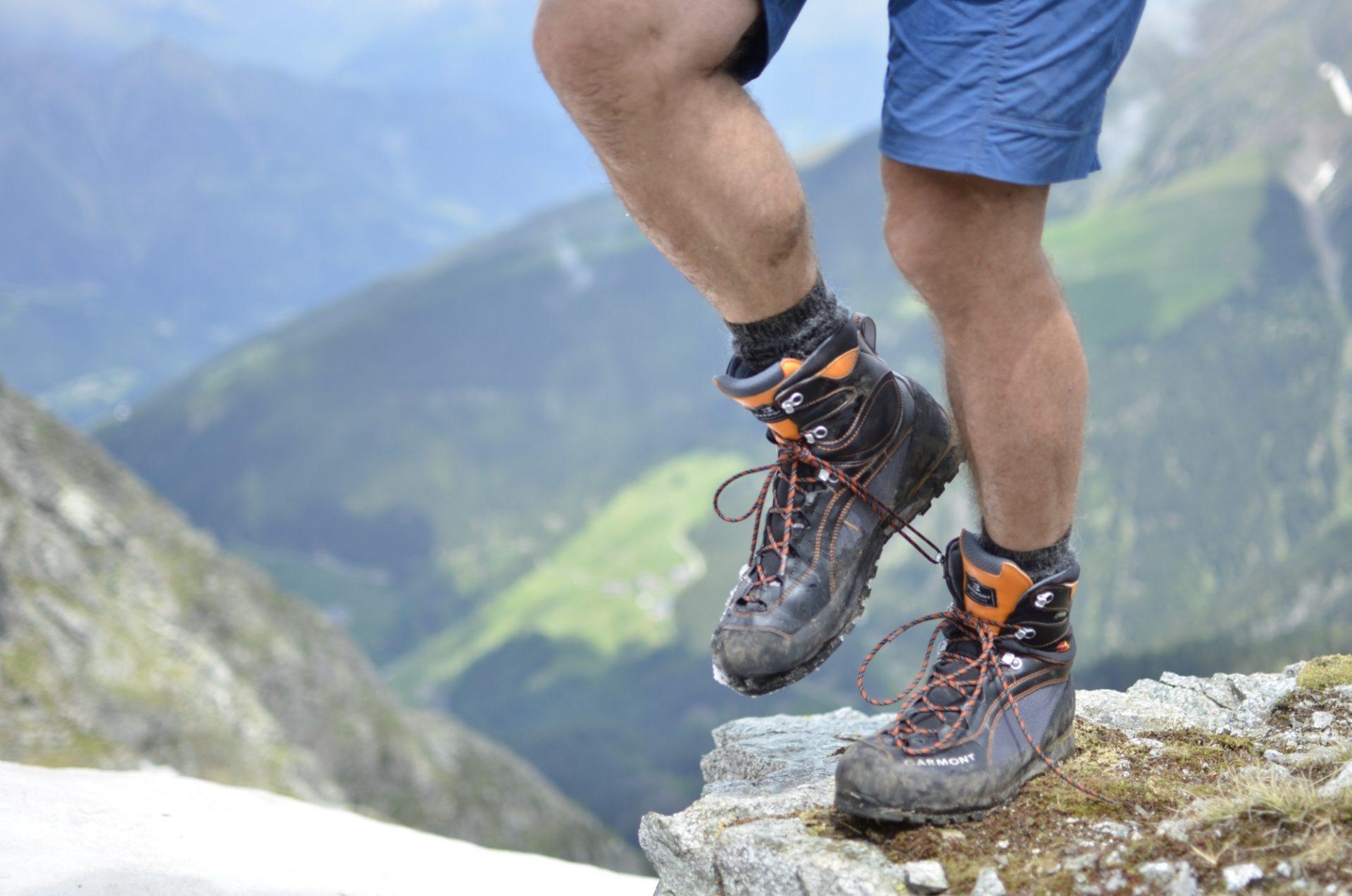 Bergsteigertipp: Der Haken am Bergschuh